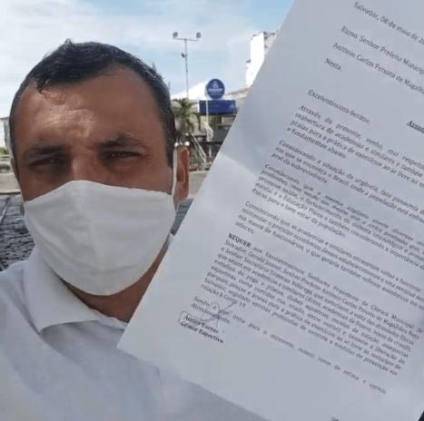 PROTOCOLO REQUERENDO REABERTURA DE ACADEMIAS E SIMILARES