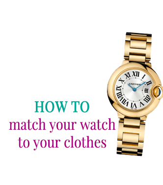 How to match your watch to your clothes by Attire Club