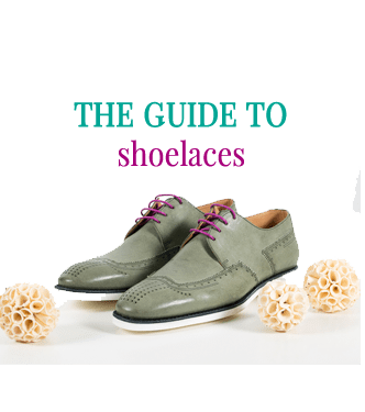 The guide to shoelaces by Attire Club