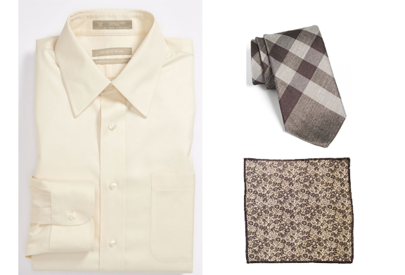 To avoid any '50 Shades of Gray' references, we chose to showcase all-beige pieces