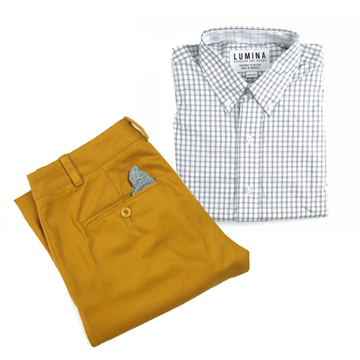 most men wear shirt pants outfits on an everyday basis because of their offices business casual style policy or simply because of their own style