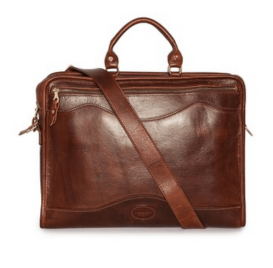 heritage leather briefcase from J.W. Hulme