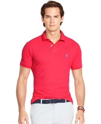 734a7aff4 The sleeves of a well-fitting polo shirt should hit around mid-bicep and hug  your arms, but not be too tight. You will notice that some polo shirts have  a ...