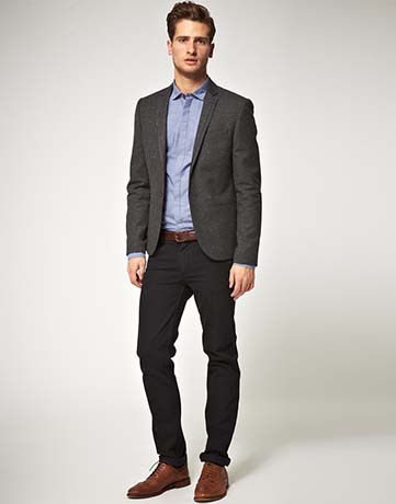 Here S How To Wear Brown Shoes With Black Pants B Attire Club By