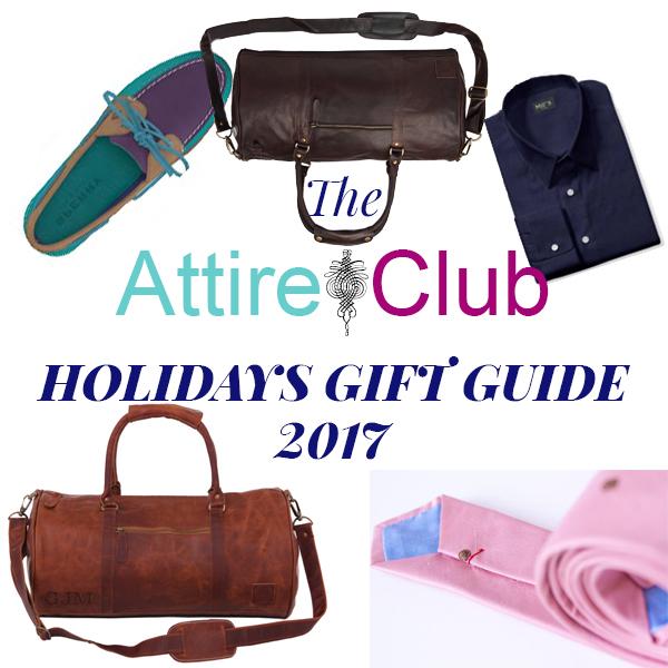 Attire Club Gift Guide 2017