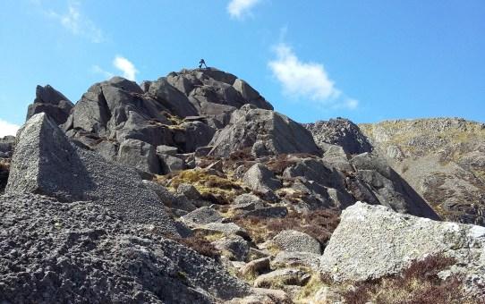 Mountain skills training at Plas-y-Brenin