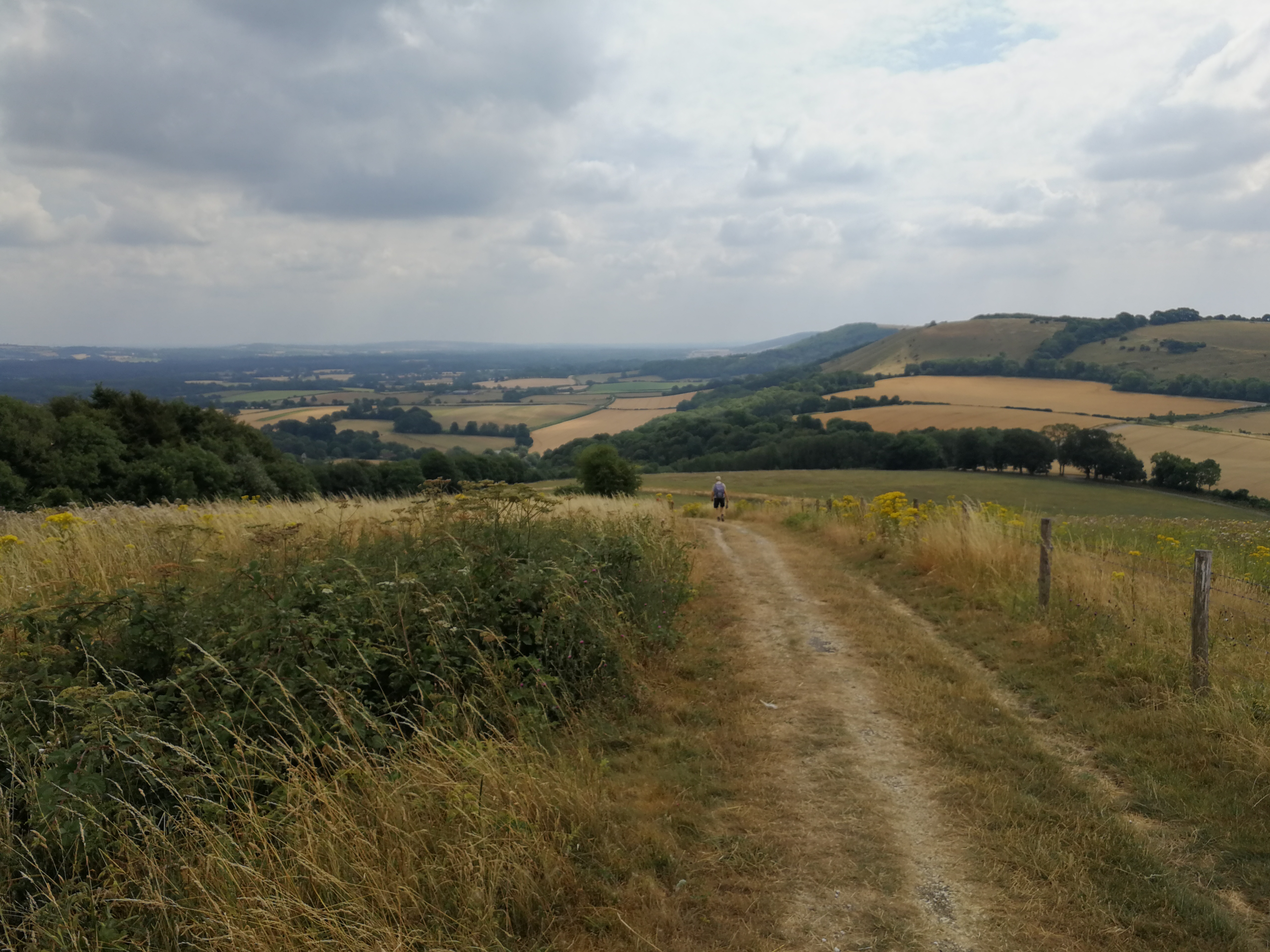Finishing the South Downs Way