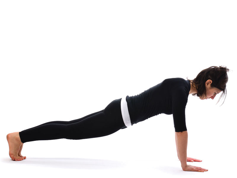Plank pose yoga for weight loss