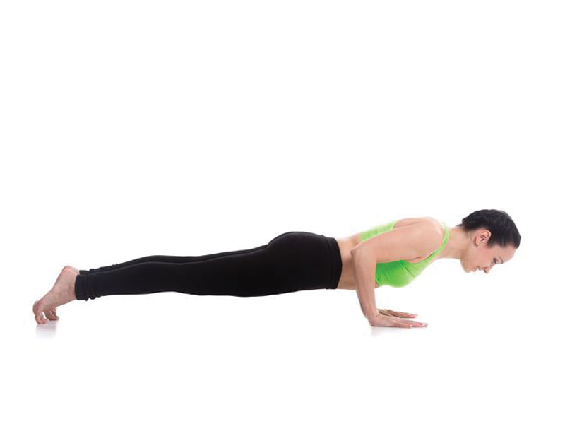 chaturanga yoya poses for weight loss