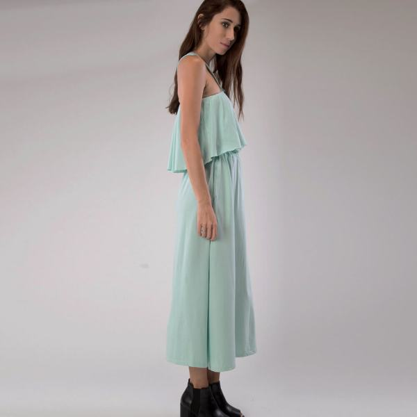 Organic Cotton Maxi dress Side 2