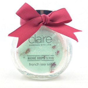 Claire Rose hip Body scrub