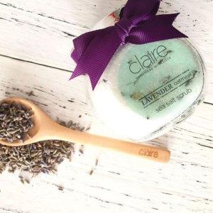 Attitude Organic Lavender Body scrub
