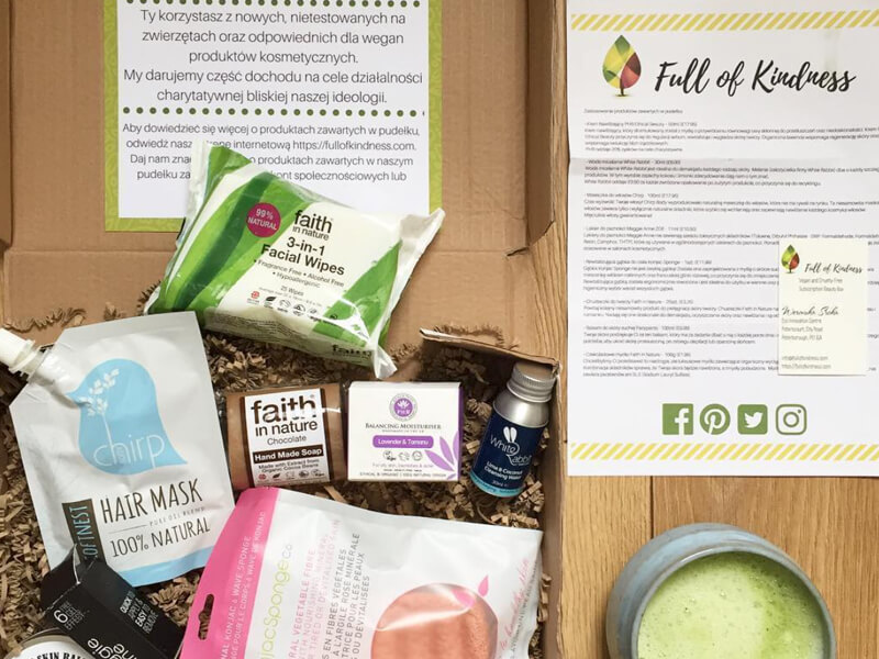 Full of Kindness beauty box