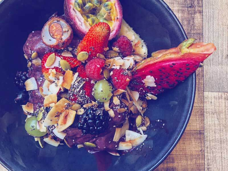 Acai Bowl in Gold Coast, Queensland Australia