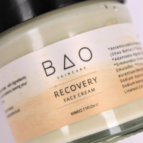 RECOVERY Natural Face Cream