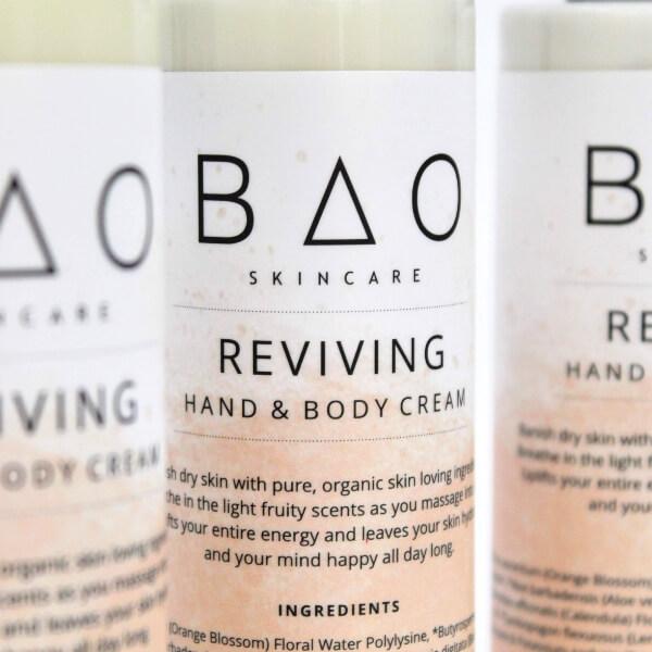 REVIVING Natural Body Hand Cream BAO