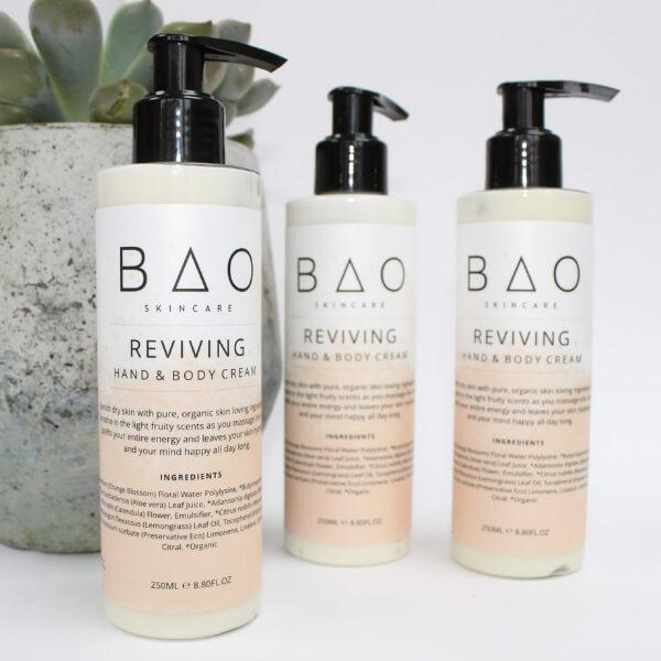 REVIVING Natural Body Hand Cream