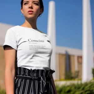 Conscious Organic Cotton T-shirt White