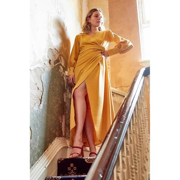 Attitude Organic Amber Ethical Dress