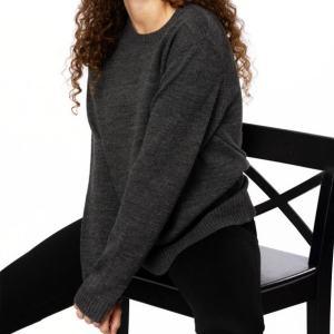 vegan wool crew neck jumper