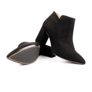 point toe vegan boots