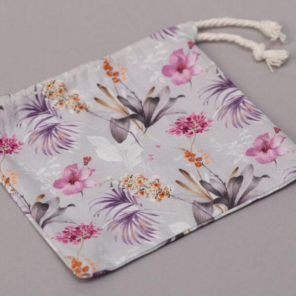 Reusable Cotton Pads (Purple Frond wash bag) – Leave No Trace