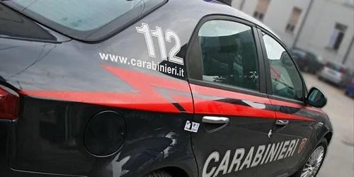 i Carabinieri hanno eseguito il sequestro