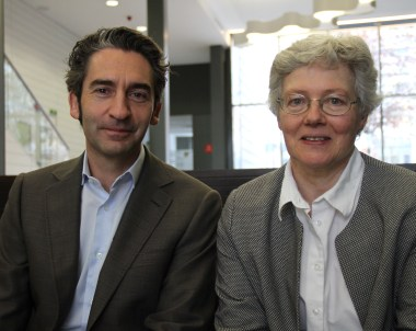 Prof. Anne L'Huillier visits
