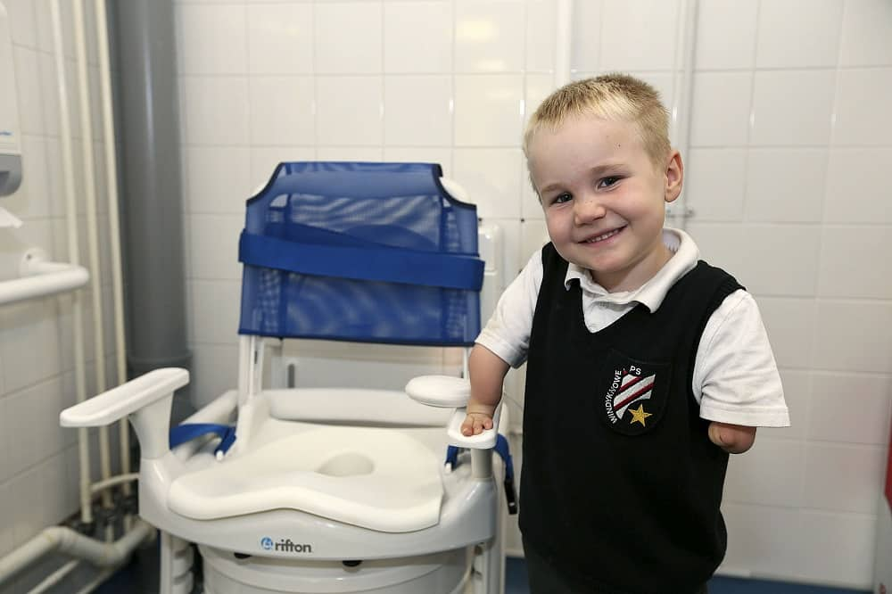 paediatric toileting technology,  Clos-o-Mat, toilet, disabled children, elderly people