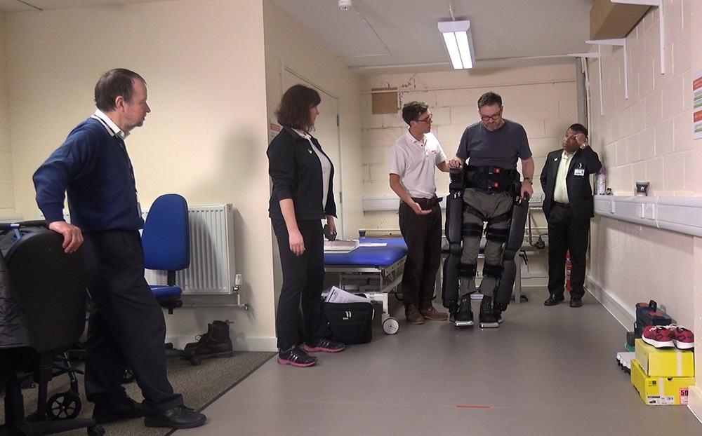 Robotic Legs University of Kent
