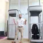 New wheelchair-friendly home lift debuts at OT Show