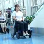 NEXT….the wheelchair that makes air travel easier