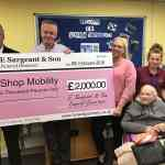 Funeral directors help to save Slough ShopMobility
