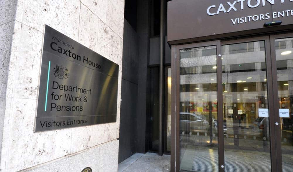 Department for Work and Pensions image