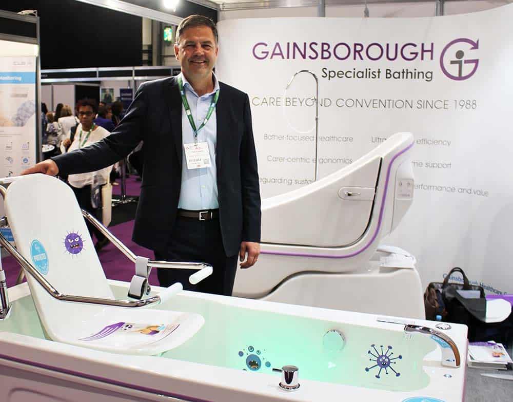 Gainsborough Specialist Bathing BioCote bath
