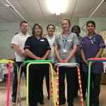Hospital's glow-in-the-dark equipment to reduce the risk of falls