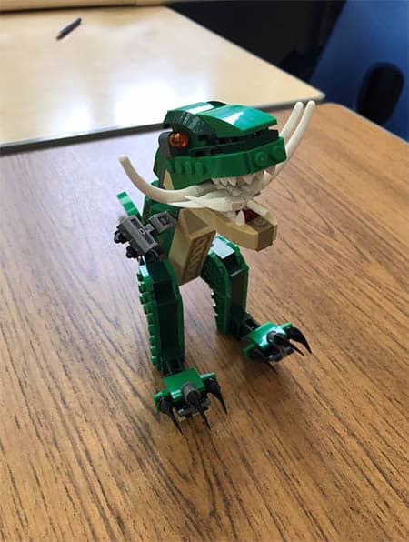 Lego dinosaur image