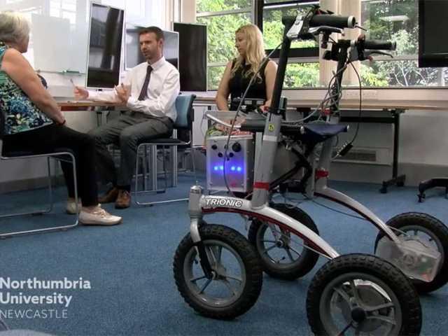 Northumbria University electronic walker image