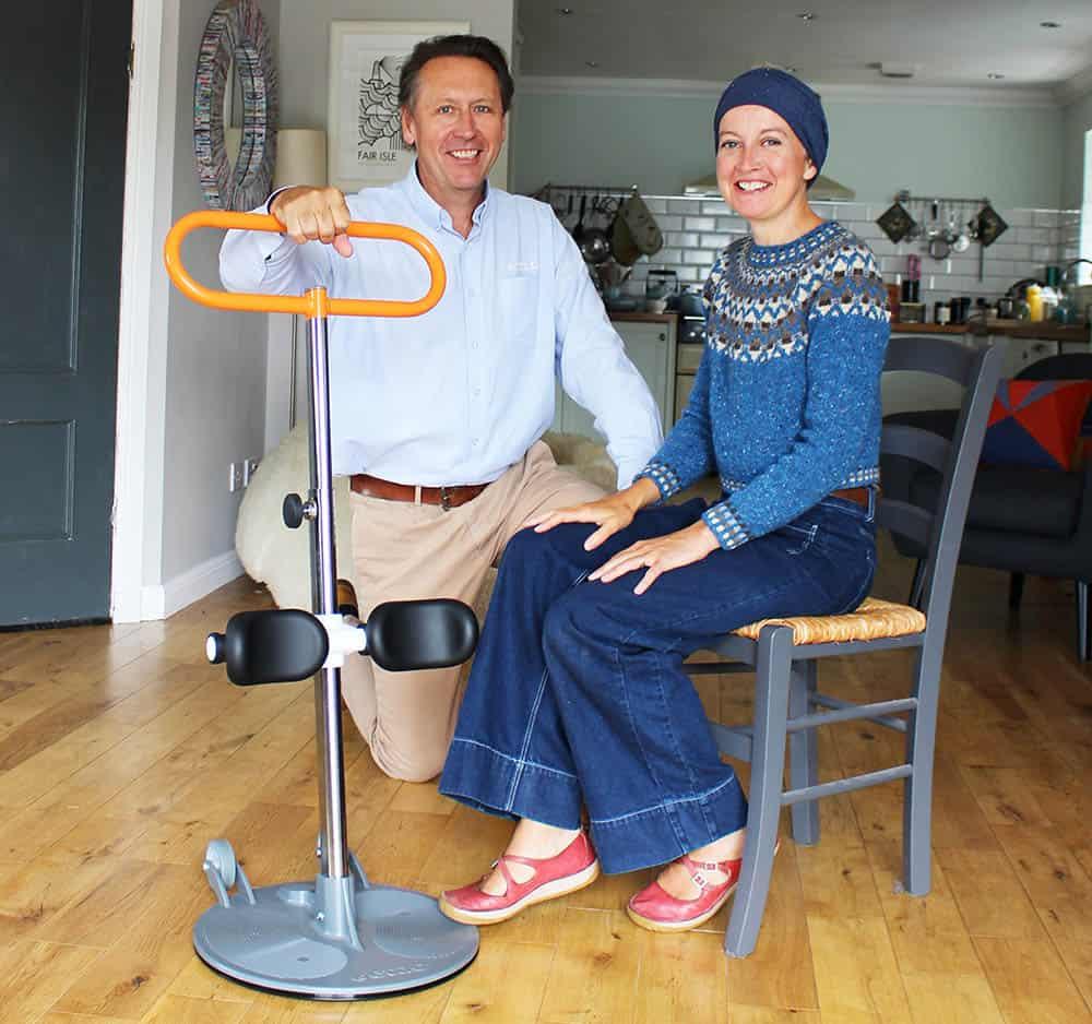 Kate Davies with Etac Turner Pro image