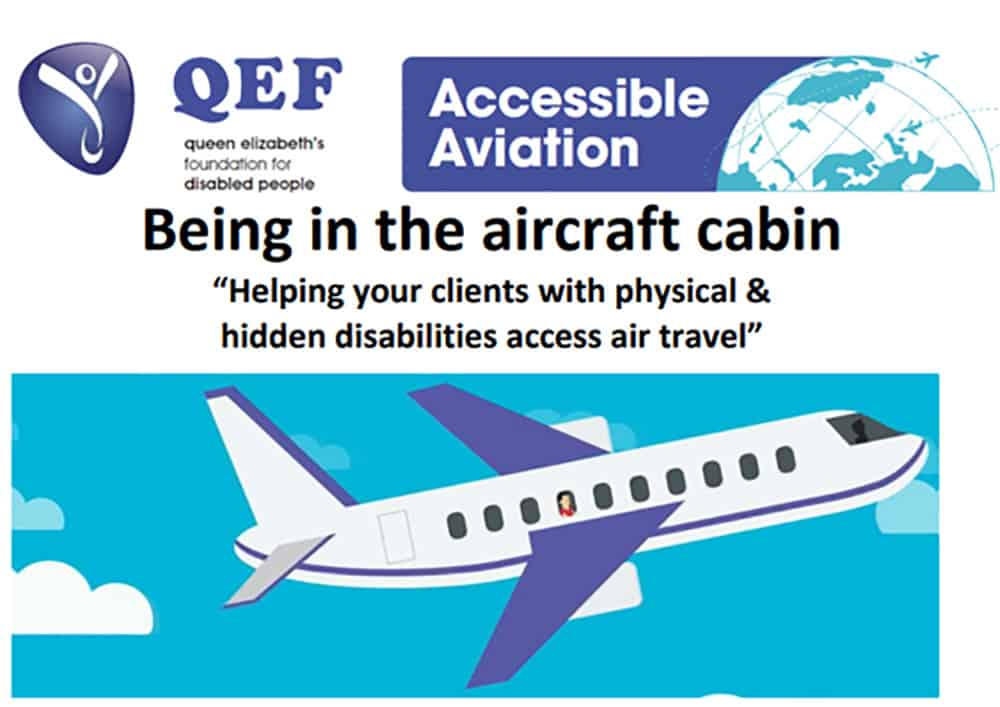 QEF Being in the aircraft cabin image