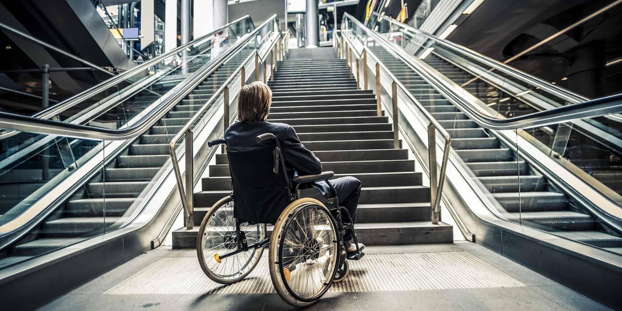 Disabled shopper image