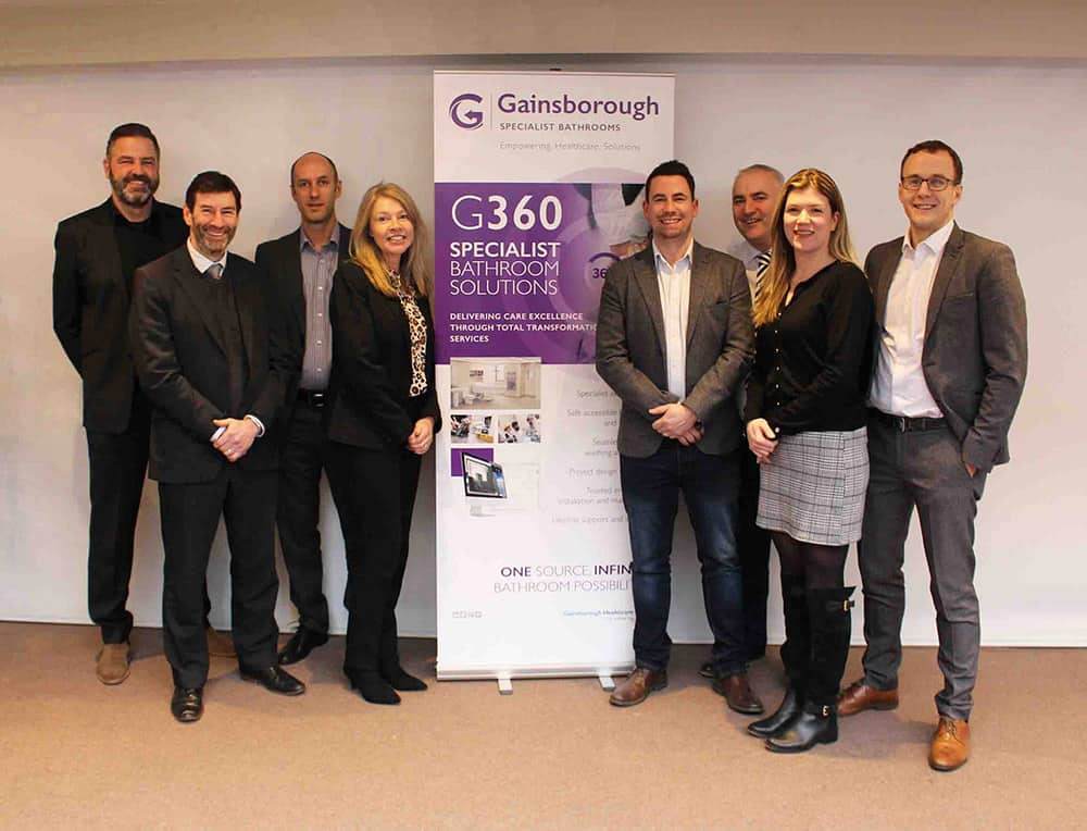 Gainsborough Healthcare Group launches G360 Specialist Bathroom Services image