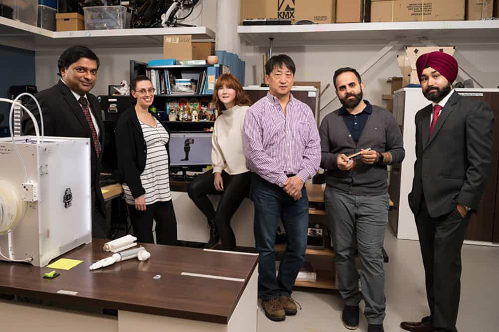 University of Delaware cerebral palsy research team image