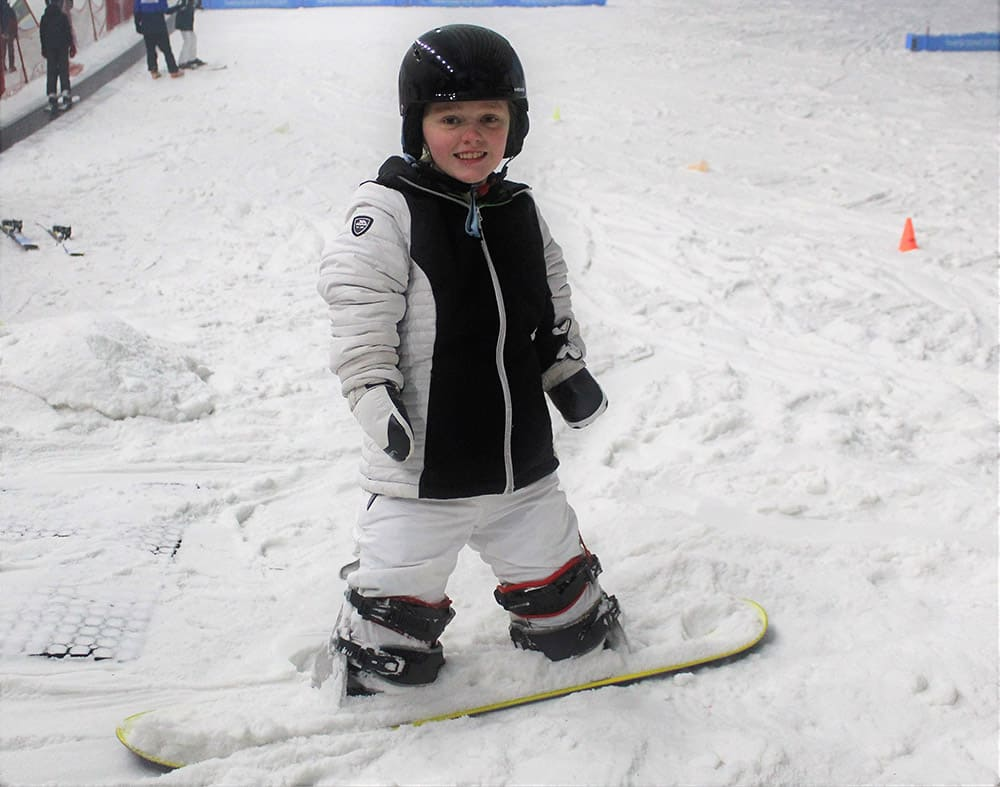 Ellie Challis on her Disability Snowsport UK adventure image