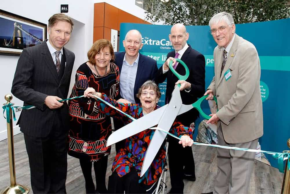 ExtraCare Charitable Trust Stoke Gifford retirement village opening image