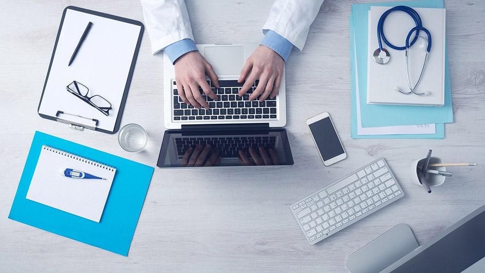 Digital healthcare tech image