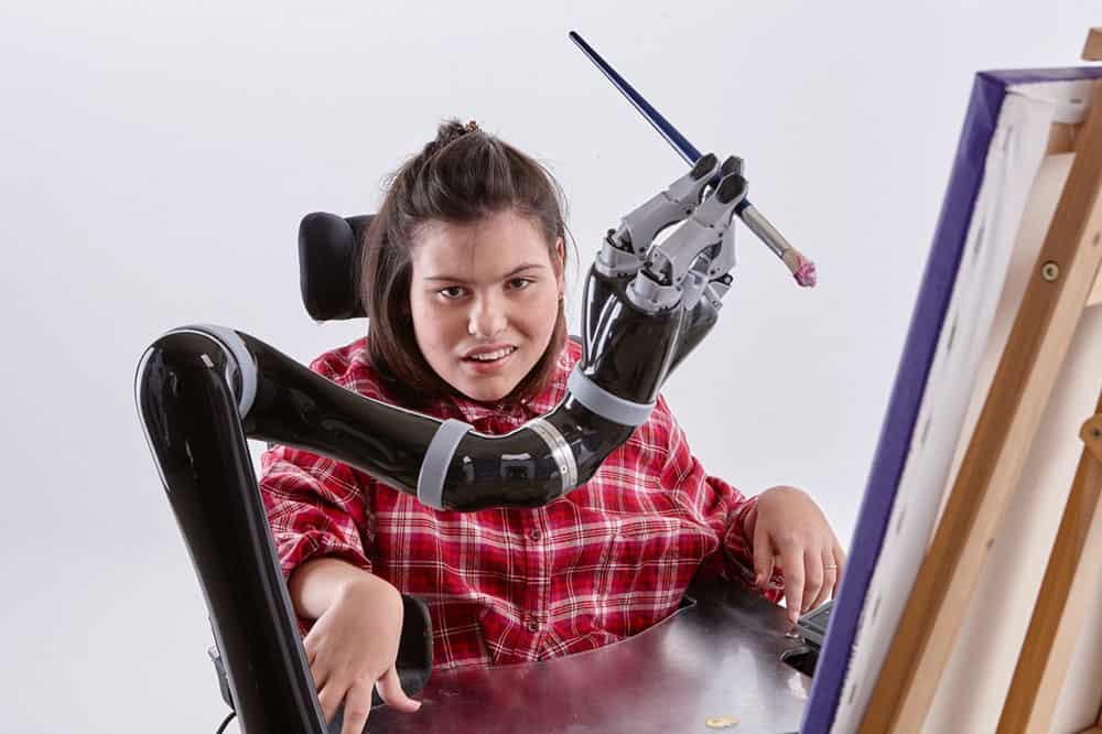Kinova robotic arm image
