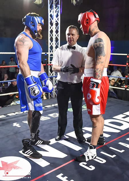 Michael lewis boxing image