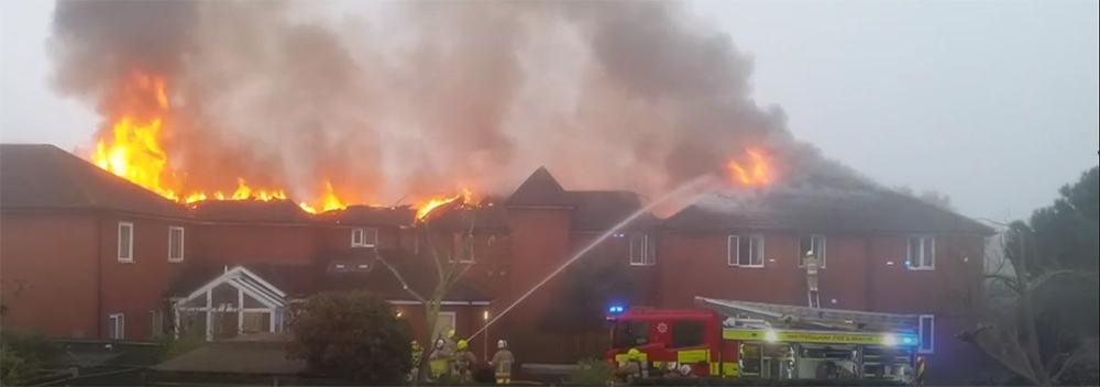 Newgrange Care Home fire image