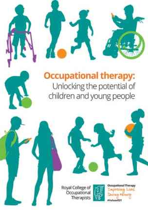 RCOT Unlocking the potential of children and young people report image